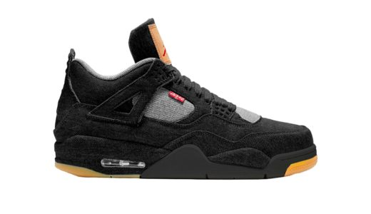 "【NIKE】2018年6月16日発売予定 Levi's x AIR JORDAN 4 ""BLACK DENIM"""