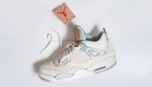 "【NIKE】2018年6月16日発売予定 Levi's x AIR JORDAN 4 ""WHITE DENIM"""