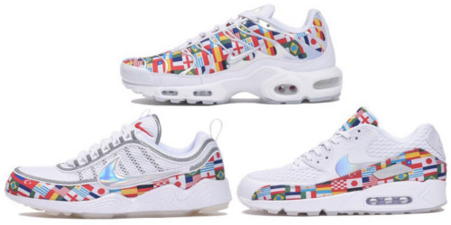 【NIKE】2018年6月1日発売予定 AIR ZOOM SPIRIDON & AIR MAX PLUS & AIR MAX 90 W杯モデル