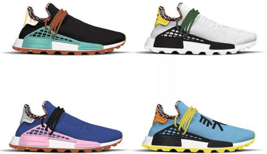 "【adidas】ファレルウィリアムズとのコラボ  NMD HU ""INSPIRATION PACK""がリーク"