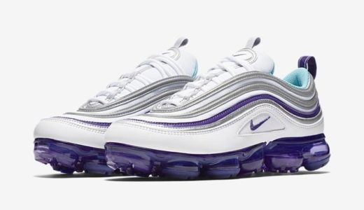 "【NIKE】6月21日(木)発売予定 AIR VAPORMAX 97 ""AQUA/VARSITY PURPLE"""
