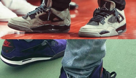 【NIKE × Travis Scott】AIR JORDAN 4 F&Fモデルがリーク
