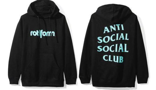 【ASSC】2018年6月16日発売 ANTI SOCIAL SOCIAL CLUB