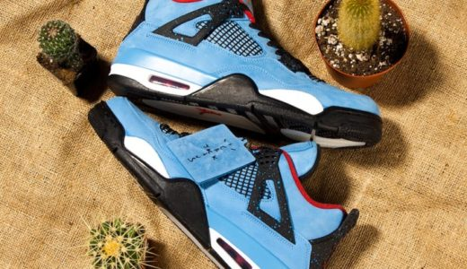 "【NIKE】Travis Scott × AIR JORDAN 4 ""Cactus Jack""が今週末発売か!?"