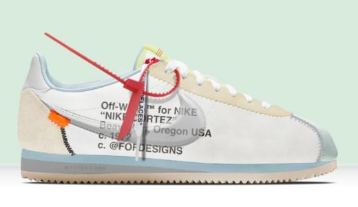 "【NIKE】Virgil Abloh OFF-WHITEとのコラボ ""CORTEZ"" がリーク!"