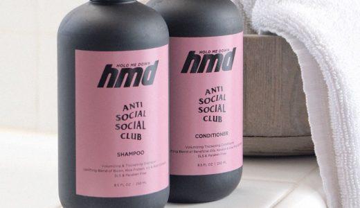 【ASSC】6月23日AM0時 ANTI SOCIAL SOCIAL CLUBからシャンプー&コンディショナーが発売