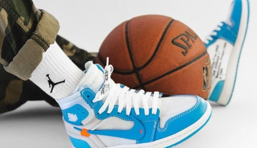 "【OFF-WHITE × NIKE】国内発売日決定!VIRGIL ABLOH × AIR JORDAN 1 ""POWDER BLUE"""