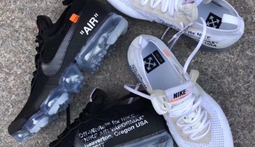 【NIKE × OFF-WHITE】7月8日発売予定 コラボAIR VAPORMAX