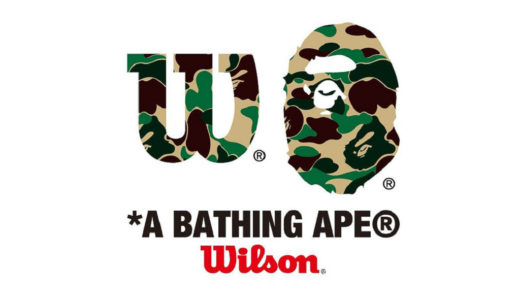 【A BATHING APE®︎ × Wilson】BAPEから新たなコラボコレクションが近日発売予定