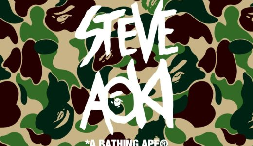 【A BATHING APE®︎ × STEVE AOKI】8月18日発売予定 コラボアイテム一覧