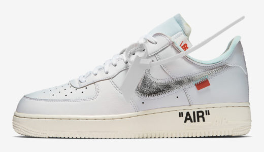 【NIKE × OFF-WHITE™】コラボAIR FORCE 1 LOW 2018年秋に再販か
