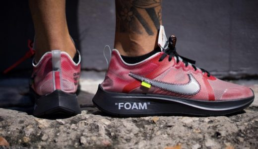 【NIKE × OFF-WHITE™️】コラボZOOM FLY SPの新着用画像がリーク