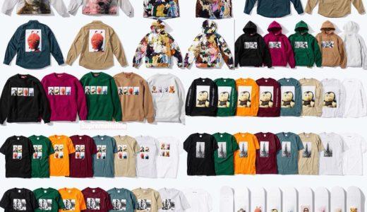 【Supreme】9月8日(土)2018FW WEEK3にて現代美術家マイク・ケリーとのコラボコレクションが発売予定