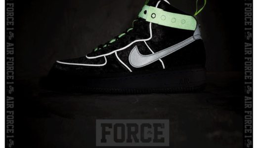 "【MAGIC STICK × NIKE】11月24日(土)発売予定 AIR FORCE 1 HI VIP ""VELOUR"""