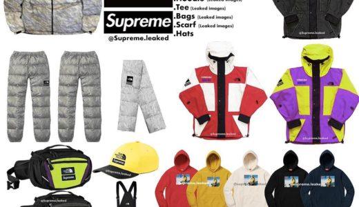 【Supreme × THE NORTH FACE】2018FWにコラボ第2弾ヌプシジャケットなどが発売予定か