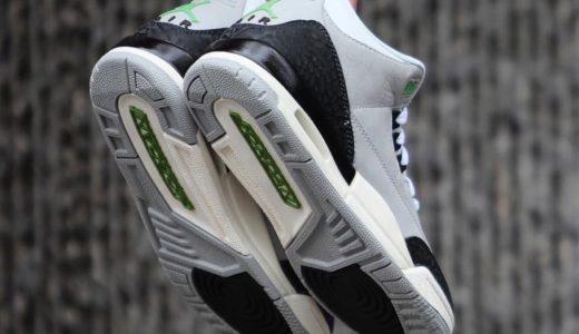"【NIKE】11月10日(土)発売予定 Air Jordan 3 Tinker ""Chlorophyll"""