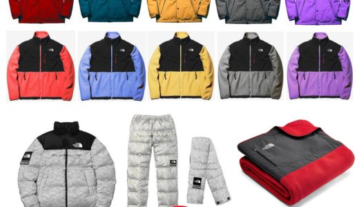【Supreme × THE NORTH FACE】2019SS(春夏)に発売予定のコラボアイテム一覧