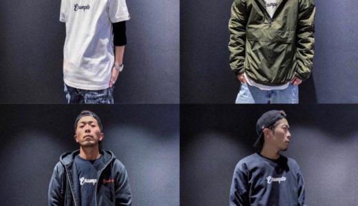 【EXAMPLE】2019ニューイヤーズアイテムが1月3日/4日に発売予定