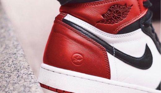 """※藤原ヒロシが否定【NIKE × Fragment Design】コラボAir Jordan 1 """"Black Toe""""が2019年に発売か"""
