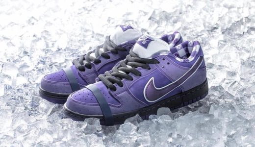 "【Concepts × NIKE SB】国内12月15日/17日発売予定 Dunk Low ""Purple Lobster"""