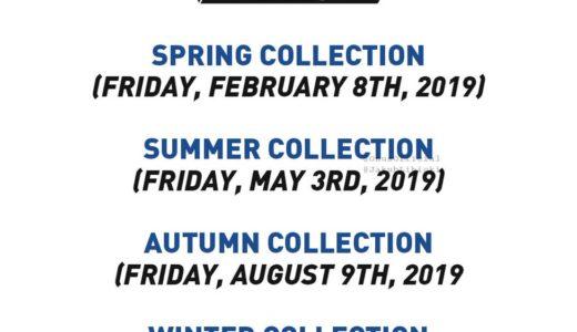 【PALACE】2019年のコレクション立ち上げなど発売日程を公開
