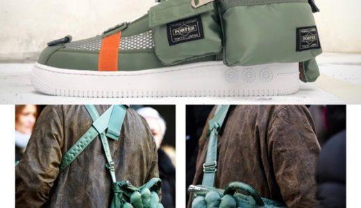 【村上隆 × PORTER】SNS上で公開されたコラボスニーカー、「お花」バッグが話題に