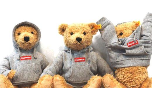 【Supreme】1月7日21:00〜 ParkSiderオンラインにてSupreme/Steiff Bearの販売や30%OFFセールが開催予定