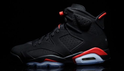 "【Nike】2月16日復刻発売予定 AIR JORDAN 6 RETRO OG ""BLACK INFRARED"""