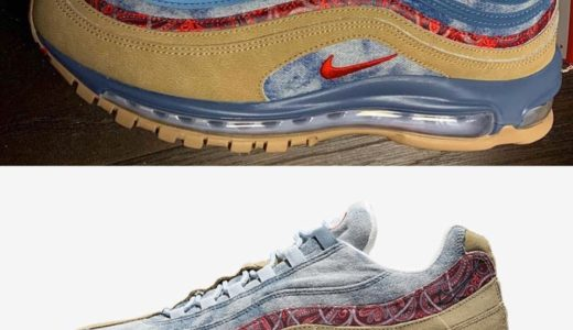 "【NIKE】AIR MAX 97 & 95 ""Wild West"" Packが2月2日に発売予定"