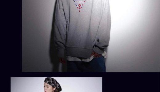 "【GUESS × atmos】1月25日(金)発売予定 ""CREWNECK USA COLLECTION"""