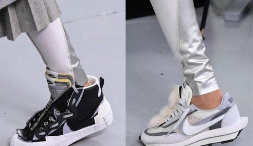 【Nike × sacai】LDV-WAFFLE DAYBREAK & Blazer Dunkの新カラーがお披露目