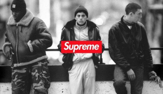 【Supreme】フランス映画「La Haine」とのコラボアイテムのモックアップが登場