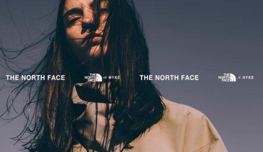 【THE NORTH FACE × HYKE】2019春夏コレクションが2月6日/13日(水)に発売予定