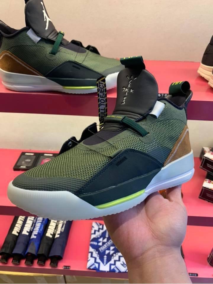 Travis Scott × Nike】 Air Jordan 33