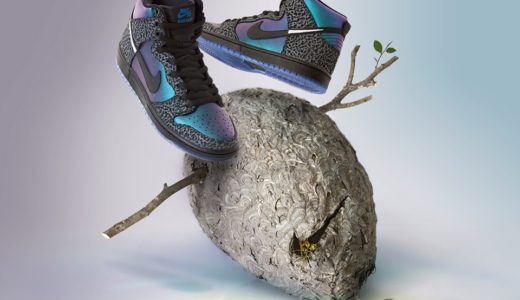 "【Black Sheep × Nike Sb】 Dunk High ""Black Hornet""が国内2月22日/2月23日に発売予定"