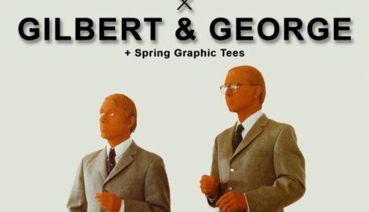 【Supreme】イギリスの現代美術家Gilbert & Georgeとのコラボアイテムが2019SS WEEK4にて発売予定か