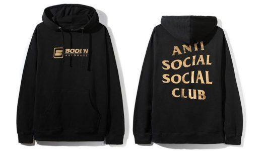 【BODEN AUTOHAUS × Anti Social Social Club】コラボアイテムが2月14日に発売予定