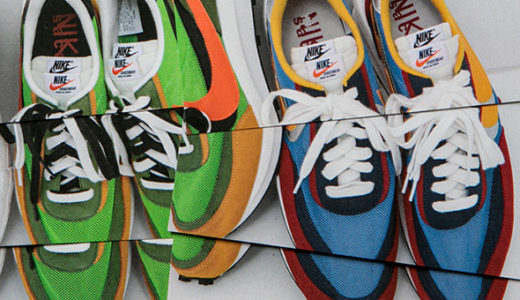 """【sacai】ポップアップストアが世界の都市をまわる、""""Hello sacai""""ツアーを開催。Nikeとのコラボアイテムなどの発売も"""