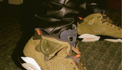 "【Nike × Travis Scott】コラボAir Jordan 6 ""Cactus Jack""が2019年夏に発売予定"