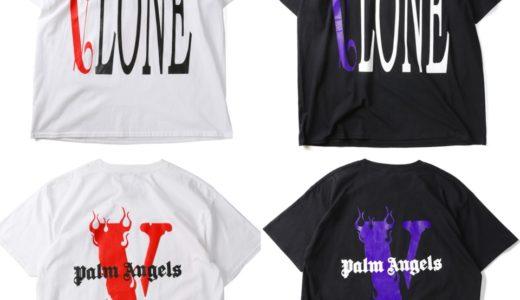 【VLONE × Palm Angels】コラボTシャツが3月3日(日)12:00より発売予定