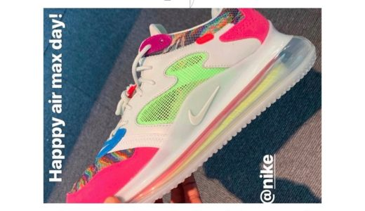 【Nike × Odell Beckham Jr.】コラボ Air Max 720 OBJが6月21日に発売予定