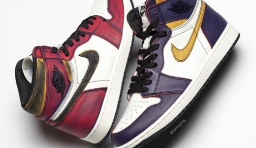 "【Nike SB × JORDAN BRAND】Air Jordan 1 Retoro High OG ""LAKERS""が5月25日に発売予定"