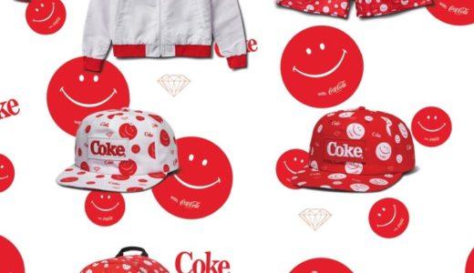 【DIAMOND SUPPLY CO. × Coca Cola】最新コラボコレクションが3月30日に発売予定