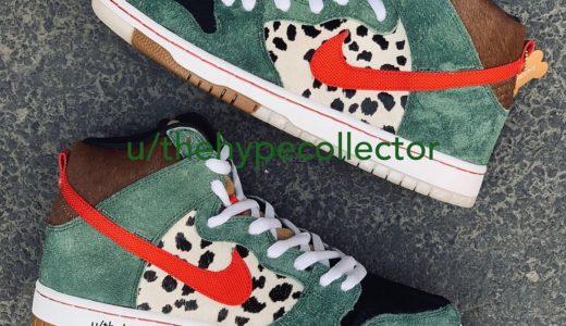"【Nike SB】 Dunk High ""Dog Walker""が4月20日(土)に発売予定"