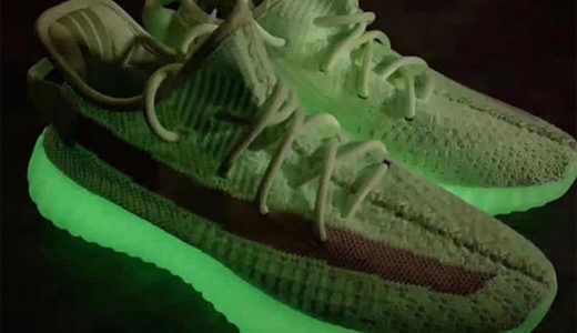 "【adidas】暗闇で光るYEEZY BOOST 350 V2 ""GROW IN THE DARK""が2019年夏頃に発売予定"
