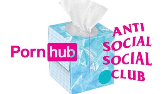 【Anti Social Social Club × Pornhub】コラボアイテムが3月23日に発売予定