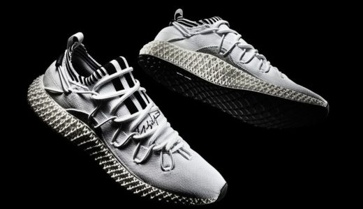 【adidas × Yohji Yamamoto】Y-3 Runner 4D IIが国内5月2日(木)に発売予定