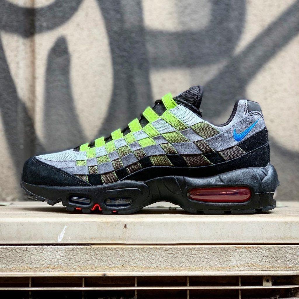 """Nike】AIR MAX 95 WOVEN """"BLACK/VOLT""""が4月"""
