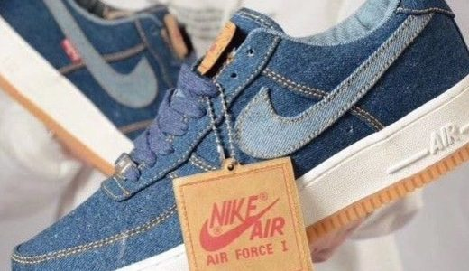【Nike × Levi's】デニム生地のコラボ Air Force 1 Low/High By Youが8月6日に発売予定