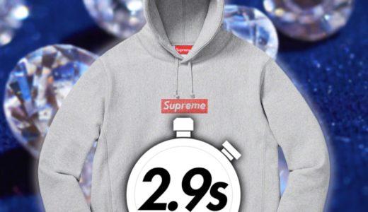 【Supreme】2019SS WEEK9 EU ヨーロッパでの完売タイムランキングと考察